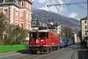 "13 April 2008 :: RhB Ge 4/4 ii no. 613 ""Domat/Ems"" on its way to Arosa through the streets of Chur"
