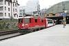 "11 April 2008 :: RhB Ge 4/4ii no. 628 ""S-Chanf"" with a Glacier Express train at Chur"