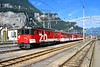 5 July 2008 :: ZB De 110 001 standing at Meiringen Station