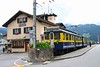 "3 July 2008 :: Grindlewald Station with Berner Oberland Bahn ABeh 4/4 no. 305 ""Gundlischwand"""