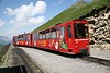 2 July 2008 :: Brienz Rothorn Hm 2/2 diesel no. 11 leads a train away from Rothorn Station down to Brienz