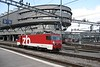 1 July 2008 :: ZB liveried HGe 4/4II, 101 965 is running round its train preparing to work back to Interlaken Ost