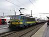 8 December 2009 :: SNCB Class 21 no. 2156 at Bruges