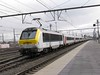 8 December 2009 :: SNCB Class 13 no. 1341 propelling its train away from Bruges