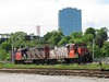 25 June 2009 :: A pair of CN GP38-2's no.s 4732 + 4773 at Halifax