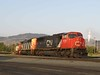 13 June 2009 :: CN SD75I no. 5768 +SD60F no. 5532 are arriving at Kamloops
