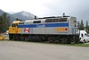 14 June 2009 :: Via Rail F40PH-2 no. 6446 is stabled at Jasper