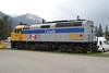 14 June 2009 :: Via Rail F40PH-2 no. 6446 is stabled at Jasper