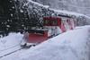 18 February 2009 :: TMR BDeh 4/4 no. 6 working a snow pough at Salvan
