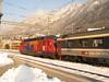 19 February 2009 :: Reka Rail liveried 460 087 in warm afternoon sunshine at Chur