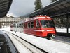 18 February 2009 :: Mont Blanc Express BDeh4/8 (Z 800) no.1 standing at Chamonix Mont-Blanc Station