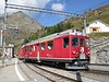 28 September 2009 :: Making a station stop at Alp Grüm is Rhb ABe 4/4 no. 46 before proceeding on to Tirano