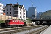 """30 September 2009 :: Articulated Ge 6/6ii no. 703 """"St.Moritz"""" passing through Chur with a freight train"""