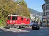 "30 September 2009 :: RhB Ge 4/4ii no. 623 """"Banaduz"" street running through Chur with a train for Arosa"