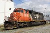 7 October 2010 :: Canadian National SD40-2W no. 5340 in Halifax Docks