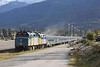 25 September 2010 :: Train 2, 'The Canadian' from Vancouver to Toronto makes a call at Jasper led by Via Rail F40PH-2 no.s 6406 + 6448