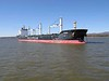 4 October 2010 :: At anchor in Québec Harbour is bulk carrier, mv. Miedwie