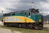 17 May 2010 :: A closer look at Via Rail F40PH-2 no. 6452 at Jasper