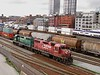 31 March 2010  :: At Vancouver are these 2 Canadian Pacific GP38AC locomotives nos. 3005 & 3007