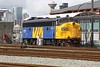 30 March 2010 :: Via Rail FP9ARM no. 6300 at Vancouver BC where it is retained as a yard switcher