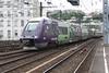 18 June 2010 :: Ter Rhône-Alpes livery Bombardier built EMU 81662 at Lyon Perrache