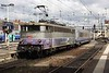 18 June 2010 :: 525238 is now seen departing from Lyon Perrache propelling its train