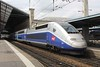 18 June 2010 :: Duplex TGV making a call at Lyon Perrache Station