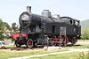 30 April 2010 :: On a plinth at Nova Gorica is JŽ 2-8-2T steam locomotive 118 005
