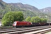 30 April 2010 ::  ÖBB 1216 147 is in a siding adjacent to Jesenice Station
