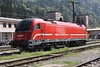 30 April 2010 ::  Parked up at Jesenice is SŽ  Class 541-1 no. 541 102 awaiting its next duty.  The Class 541-1 has been designed to work into Italy and Hungary