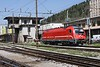 30 April 2010 :: Another look at SŽ  Class 541-1 no. 541 102 in front of an unattractive signal box at Jesenice