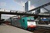 28 April 2011 :: SNCB Class 28 Traxx  186 228 at Rotterdam Central having worked a train from Brussels