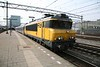 29 April 2011 :: NS Class 1700 electric locomotive  no. 1743 on a passenger service at Utrecht Central