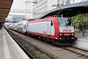 15 May 2011 :: CFL Class 4000 No 4015 heads a bi level train at Luxembourg station