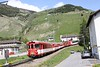 "18 May 2011 :: Having now descended to Andermatt MGB Deh 4/4 no. 92 ""Realp"" arrives with its train from Nätschen"