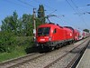22 September 2005 :: ÖBB electric 1116 189 propelling a double deck train through Silberwald