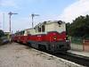 25 September 2005 :: Diesel Mk 45 2006 is working on the Children's Railway in Budapest