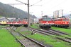 30 April 2006 :: A collection of ÖBB locomotives at Mürzzuschlag
