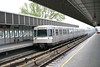 28 April 2006 :: Vienna underground Line U1 train at Alte Donau