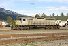 4 June 2013 :: SD40-2 no. 5947 on lease from Alstom to Canadian National is pictured at Jasper