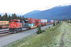 5 June 2013 :: At the rear of the Intermodal was CN SD70M-2 no. 8964