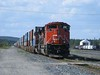 11 September 2011 :: Another view of  Canadian National SD70M-2's no.8947 and 8953 at Foleyet