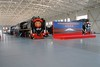 """27 Feb 2003 :: The Beijing Railway museum was very spacious and provided plenty of room to view the exhibits including JF1 the 2-8-2 """"Mao Zedong"""""""