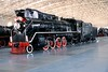 27 Feb 2003 :: The first stop on our tour was at The China Railway Museum in Beijing.  Pictured is a 1941 built JF1 steam locomotive