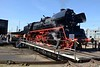 7 April 2018 :: The turntable at Eisenbahnmuseum in Dresden  proved to be a great way to display the locomotives and here is 2-6-2 No. 35 1097
