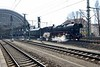 8 April 2018 :: After the railtour the stock is worked away from Dresden Hbf by 2-10-0 No. 44 1486