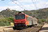 8 September 2010 :: The departing view of 7383 heading away from Collioure