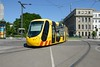 27 May 2017 :: One of the fleet of 27 Alstom Citadis trams at Mulhouse