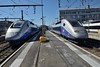 26 May 2017 :: A pair of Duplex TGV's at  Paris Gare de Lyon with set 274 on the left and 4729 on the right which will form the 1723 to Freiburg (Breisgau) Hbf