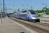 27 May 2017 :: TGV set 4709 is departing from Mulhouse wth a service to Marseille-Saint-Charles